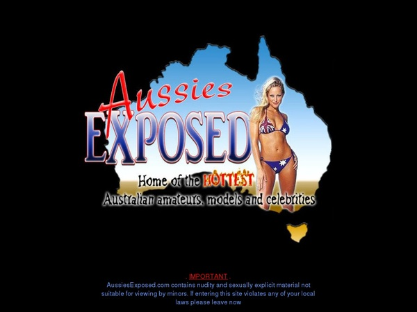 Aussies Exposed Save