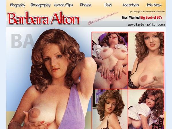 Barbara Alton Porn Account