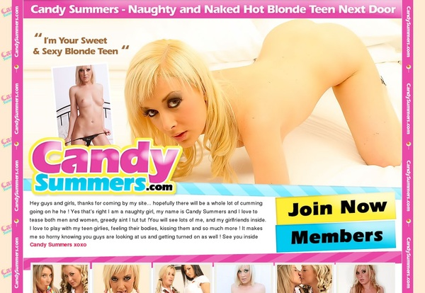 Candy Summers Upcoming