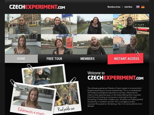 Czech Experiment Password List