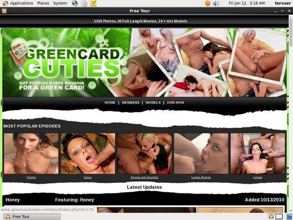 Green Card Cuties Real Accounts