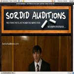 Sordid Auditions V2 Pass Word