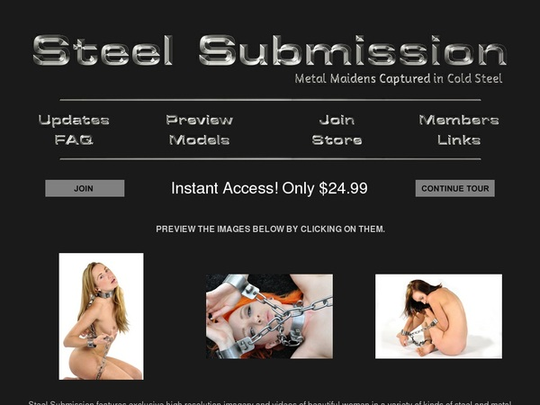 Steel Submission Pay With