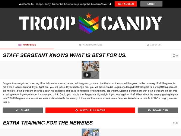 Troopcandy.com Tour