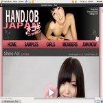 Handjob Japan With Discover Card
