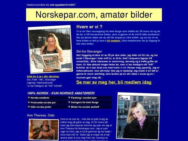 Free Norskepar.com Accs