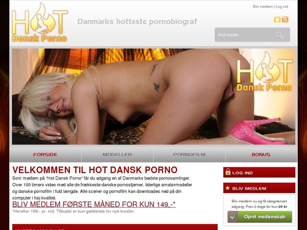 Hot Dansk Porno With Directpay