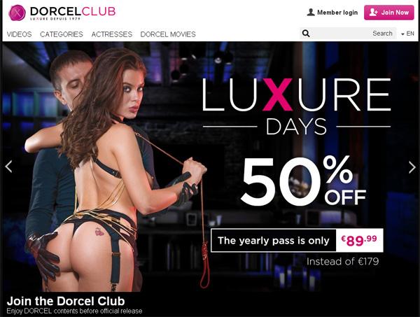 Dorcel Club Acount