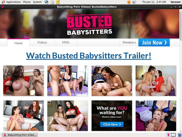 Free Busted Babysitters Accs